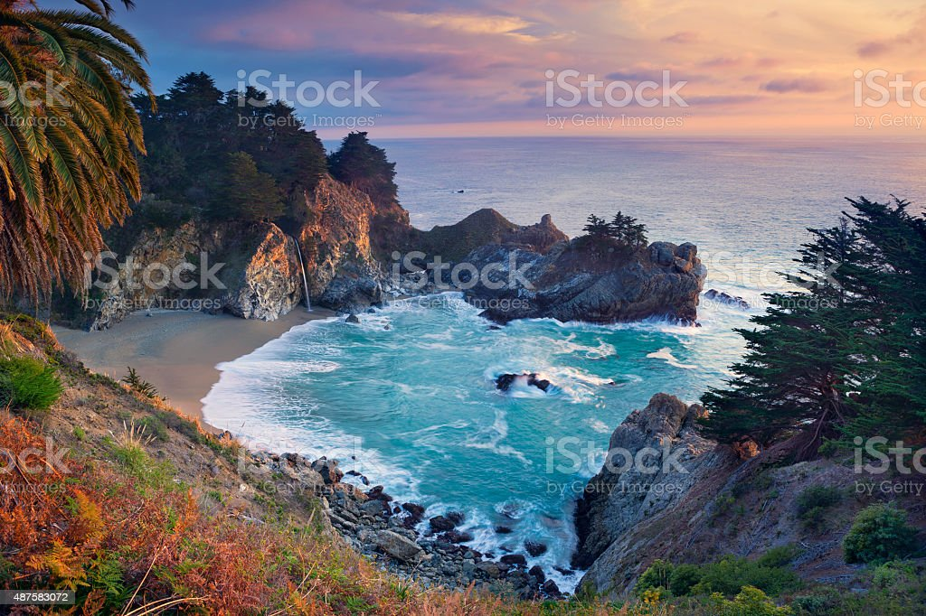 McWay Falls. stock photo