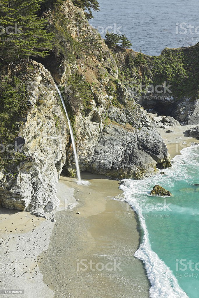 McWay Waterfall stock photo