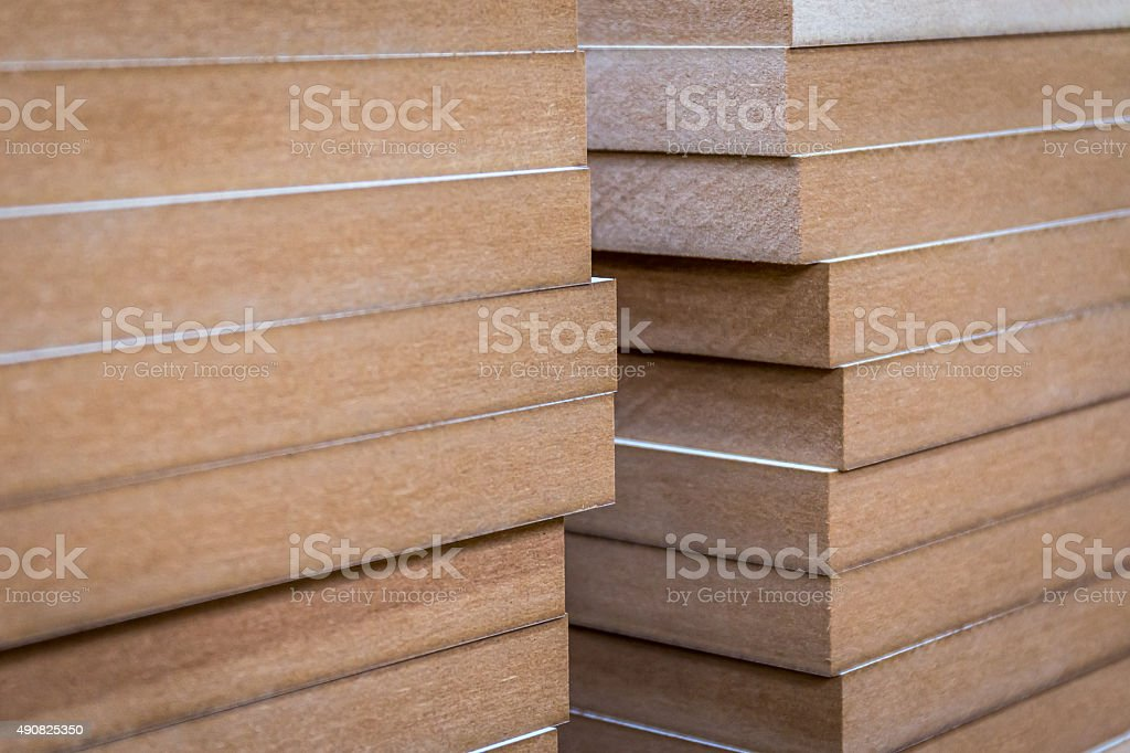 Mdf Wood Flooring : Mdf wood boards stock photo more pictures of istock