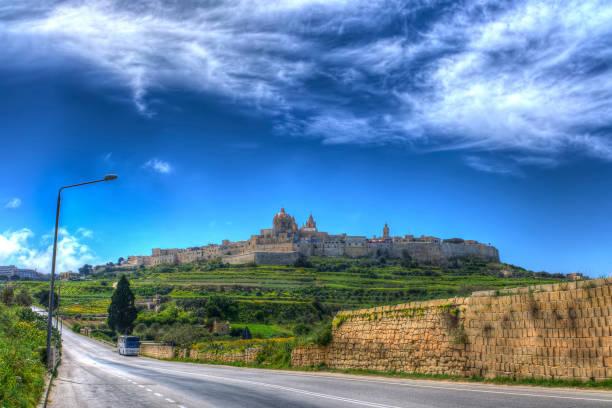 Mdina - Malta stock photo
