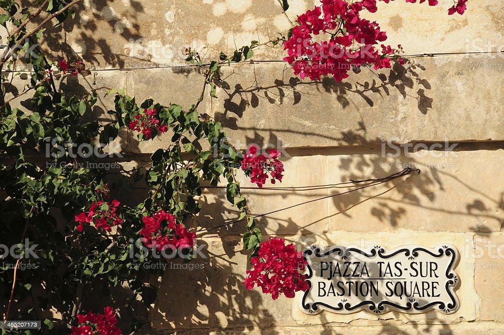 Mdina,Maltese Islands. stock photo