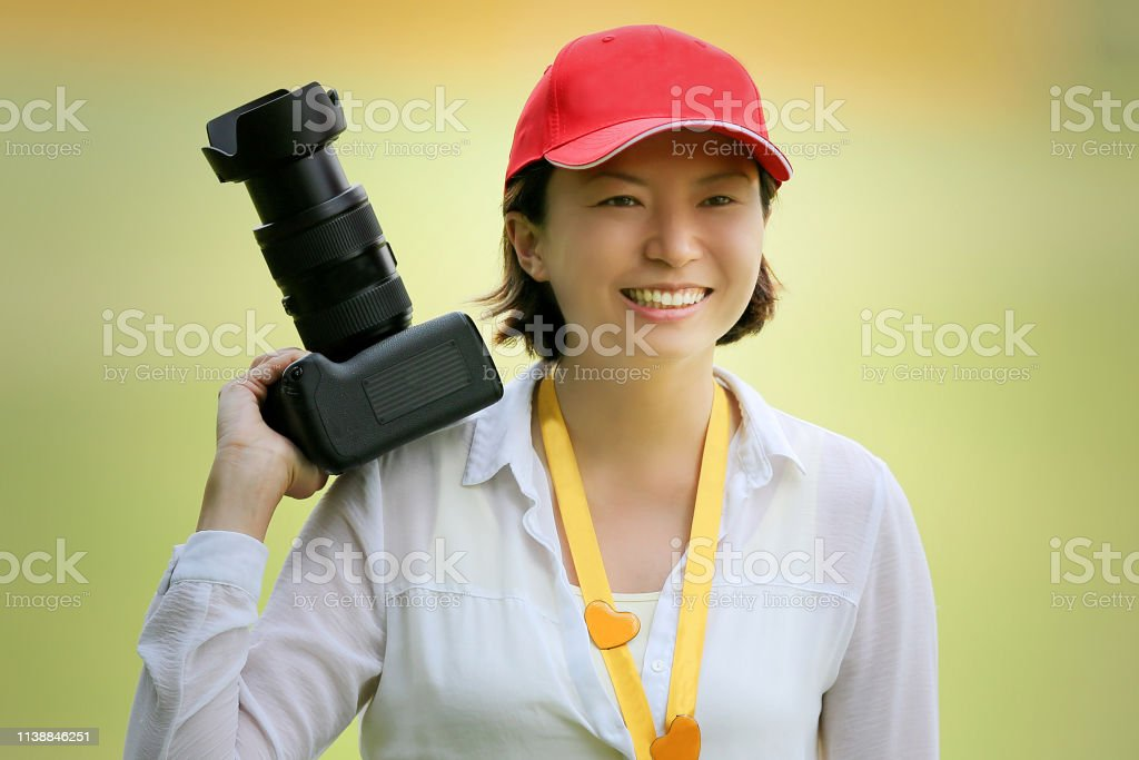 Me and My Camera royalty-free stock photo