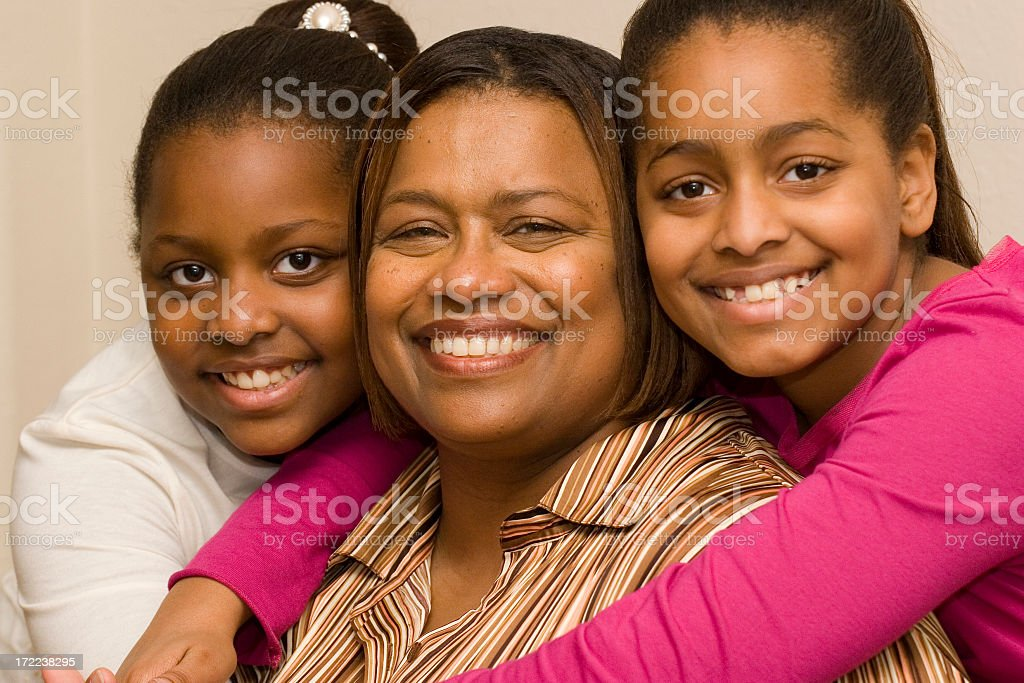 Me and my daughters royalty-free stock photo
