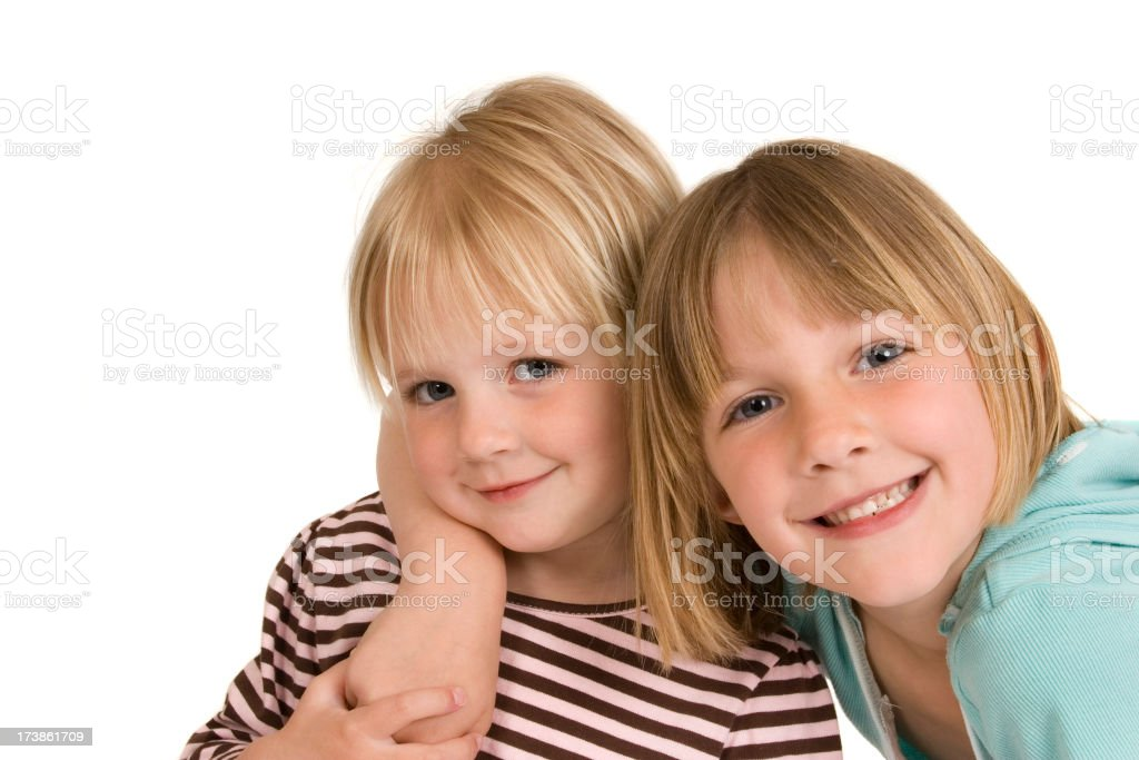 Me and my little sis royalty-free stock photo