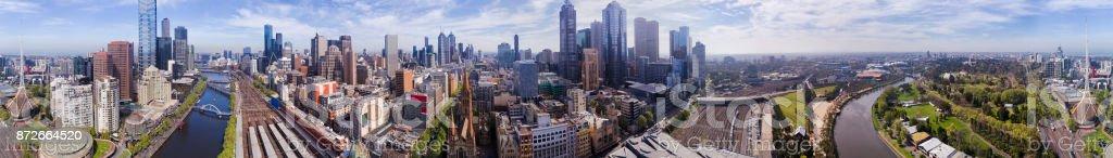 D Me CBD 360 panorama stock photo