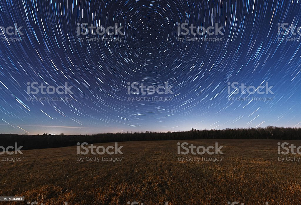 Meadow of the Stars stock photo