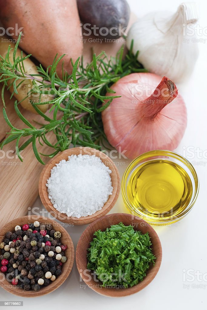 Meal Ingredients stock photo