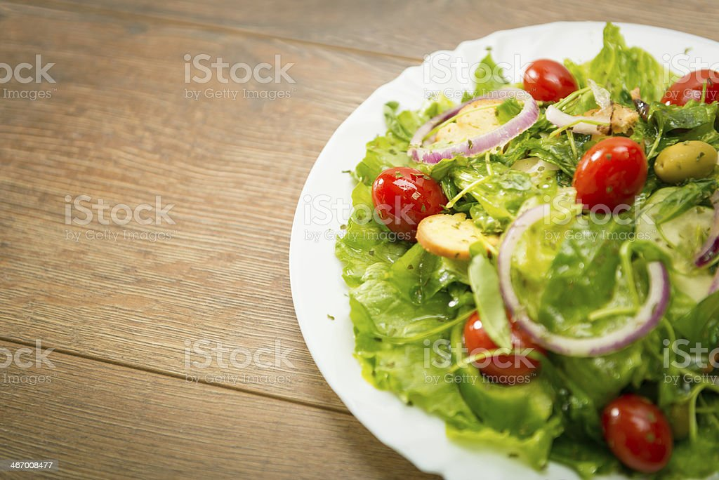 Meal salad royalty-free stock photo