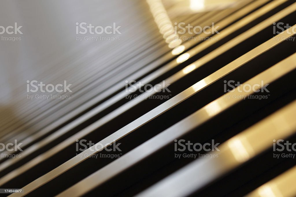 meallic pattern stock photo