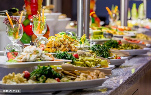 istock Meals on buffet 1086562330