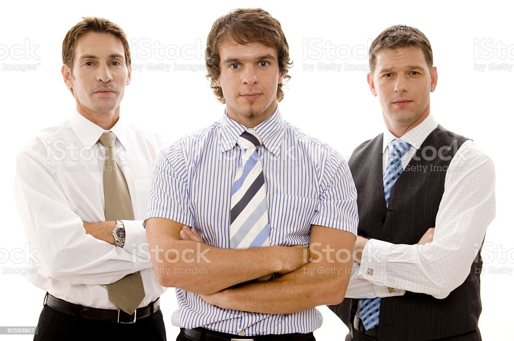 Mean Business - Royalty-free 30-39 Years Stock Photo