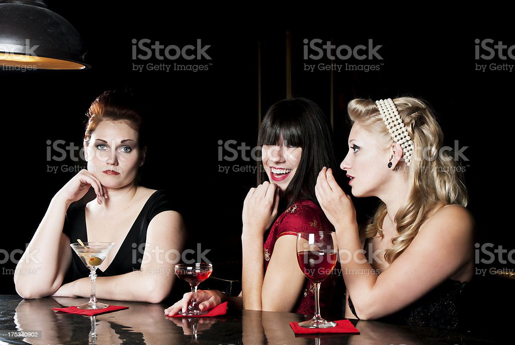 Mean Girls stock photo