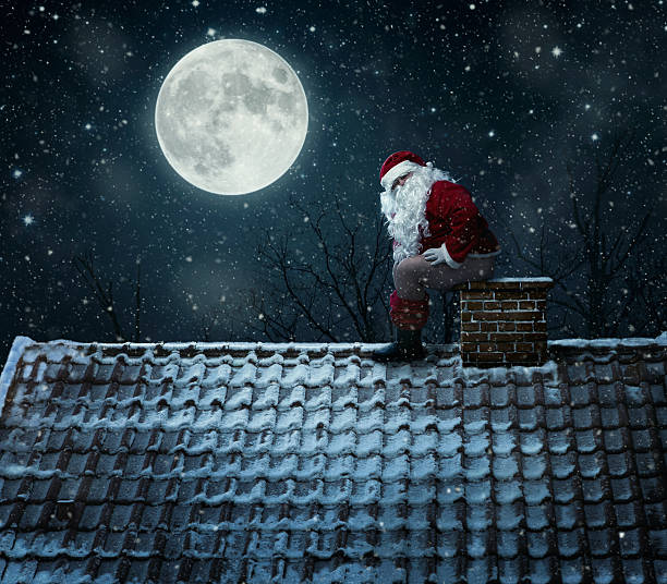 mean santa - naked santa claus stock pictures, royalty-free photos & images