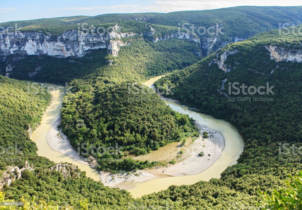 Flânez dans le sud de la france - Photo de Arche naturelle libre de droits