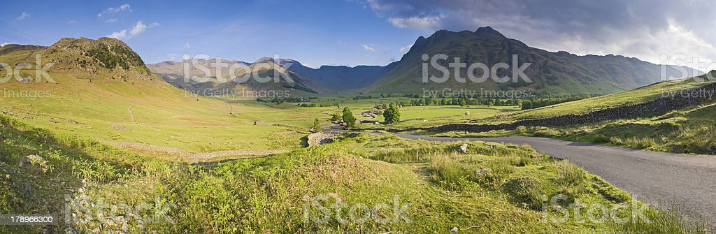 Meandering meadows royalty-free stock photo