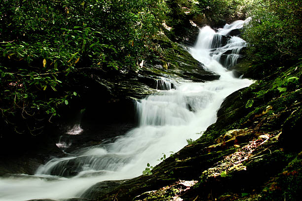Meandering Waterfall stock photo