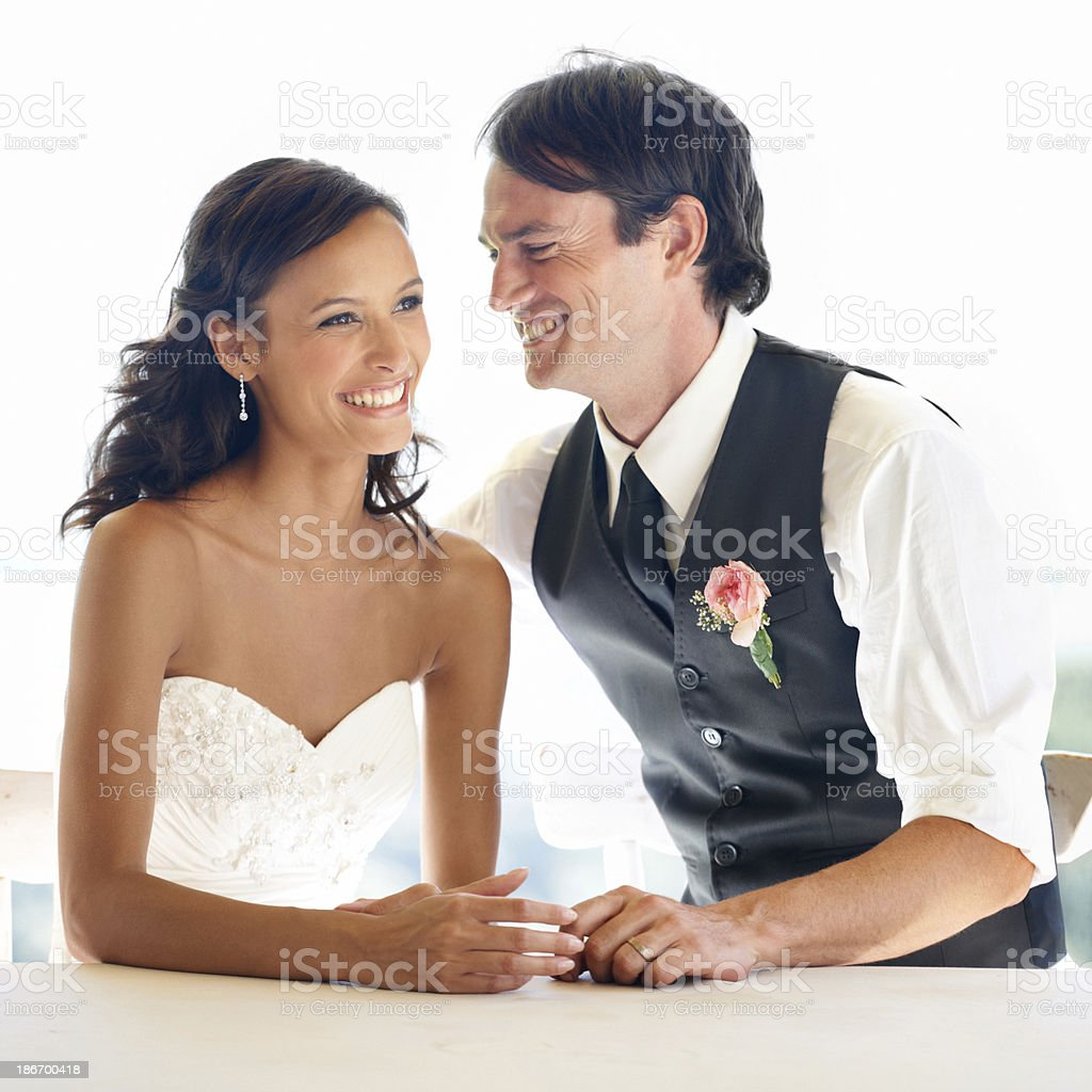 Meant for each other royalty-free stock photo