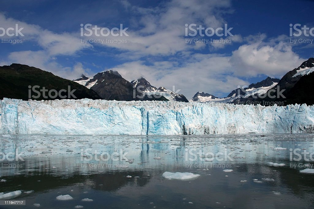 Meares Glacier stock photo