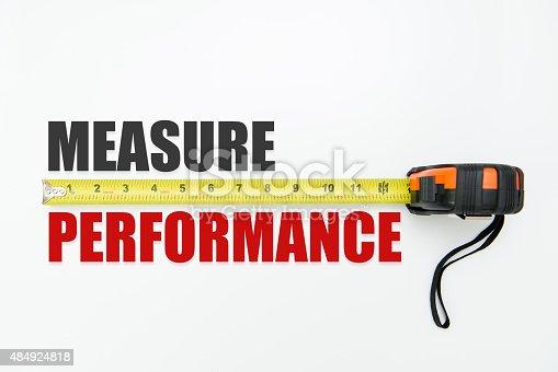 istock Measure performance 484924818