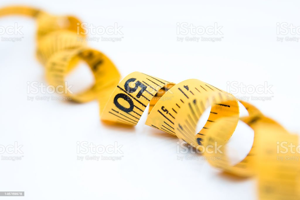 measure tape royalty-free stock photo