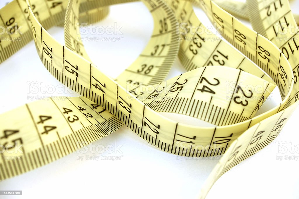 measure tape #7 royalty-free stock photo