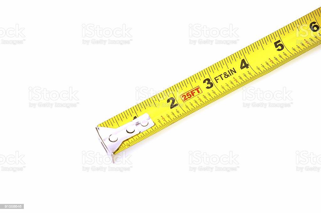 measure tape #7 royalty-free stock photo