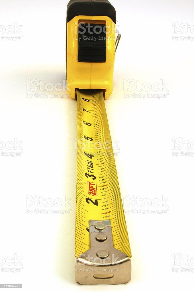 measure tape #3 royalty-free stock photo