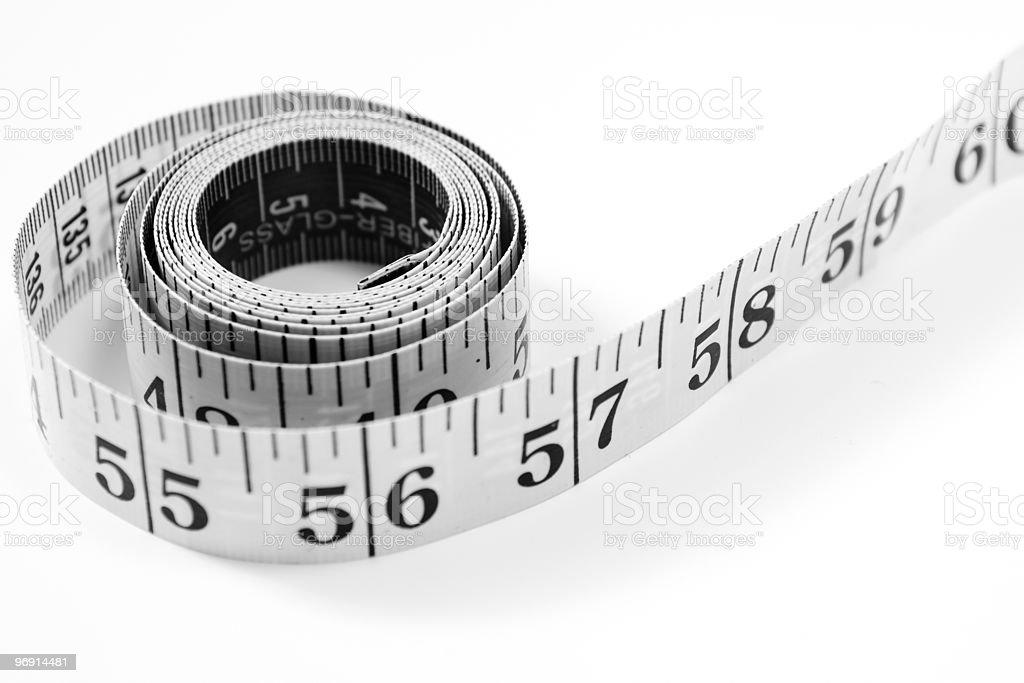 Measure tape royalty-free stock photo