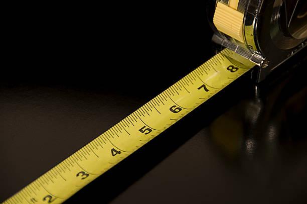 Measure Up stock photo