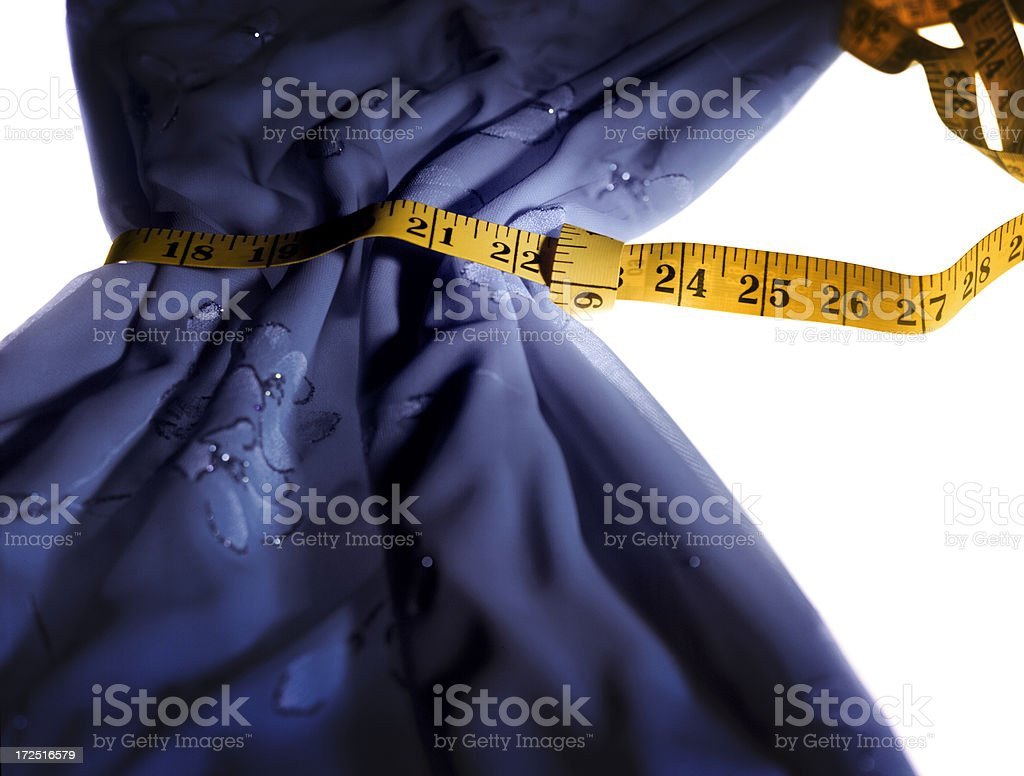 Measured Down royalty-free stock photo