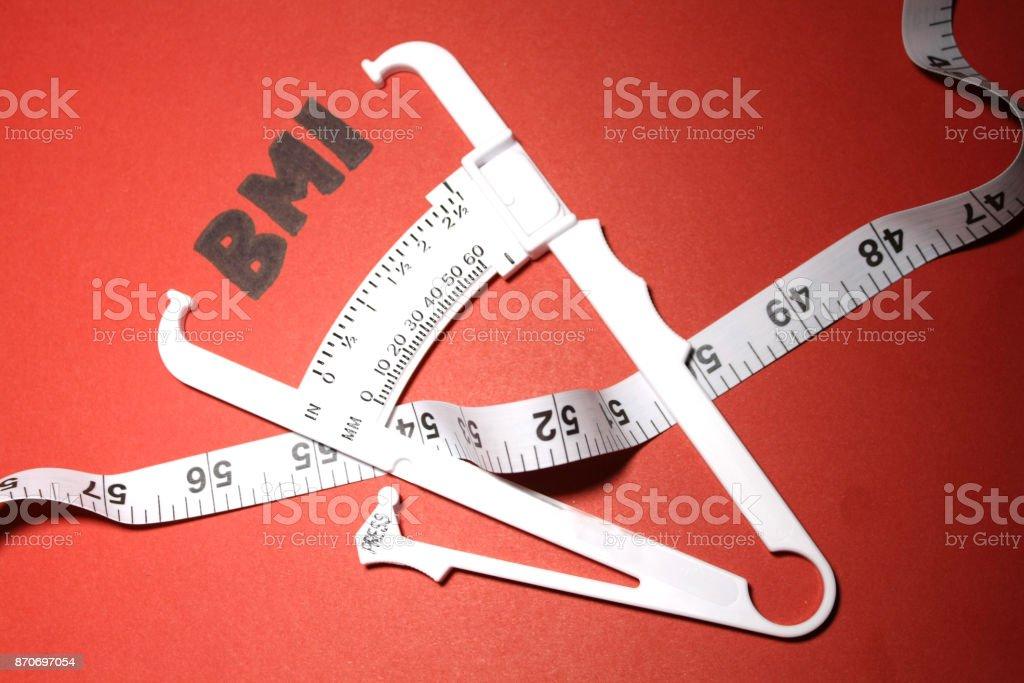 BMI Measurement stock photo