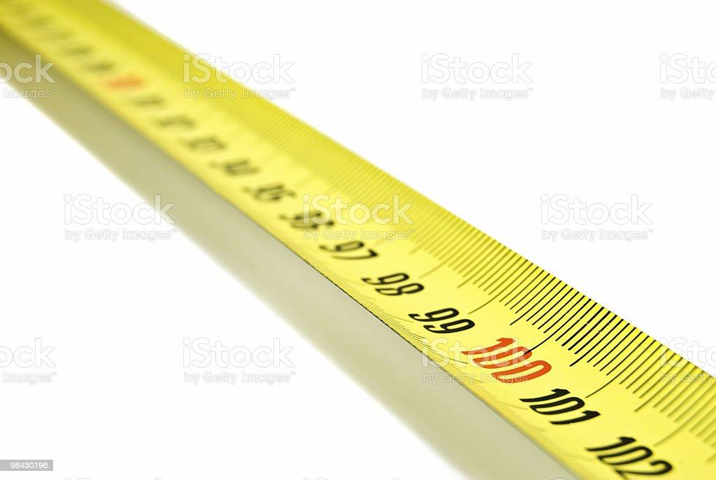 Measurement tape royalty-free stock photo