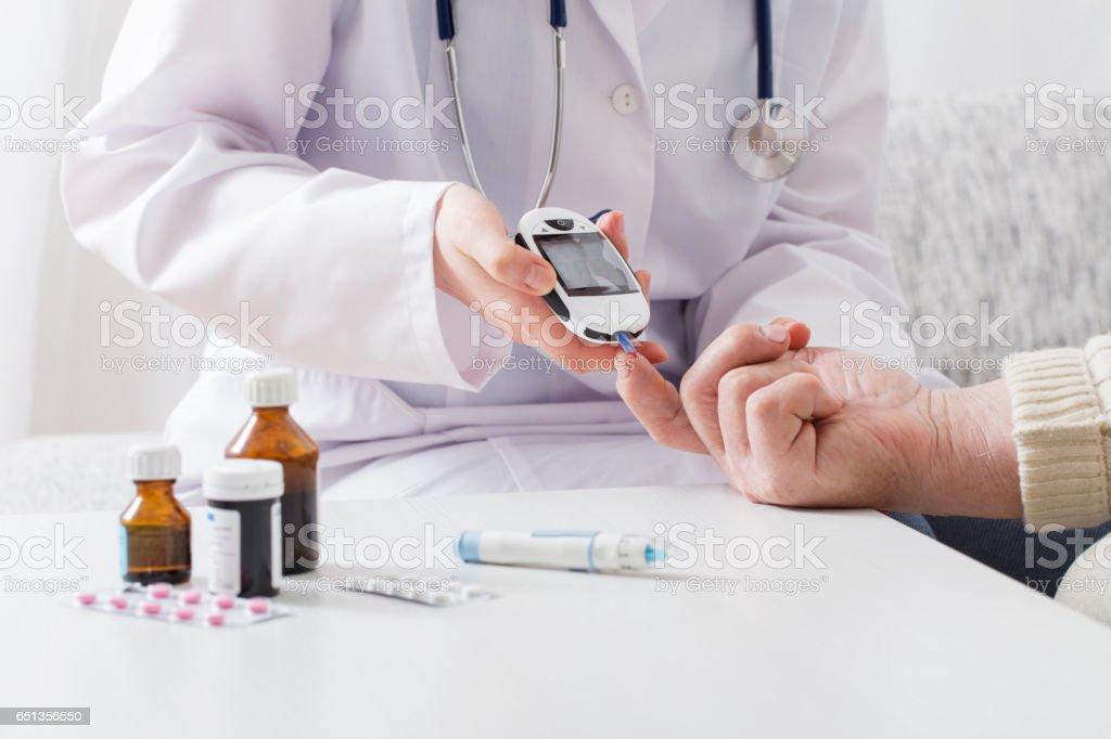 測量血糖圖像檔