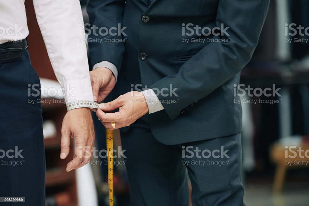 Measuring cuff stock photo