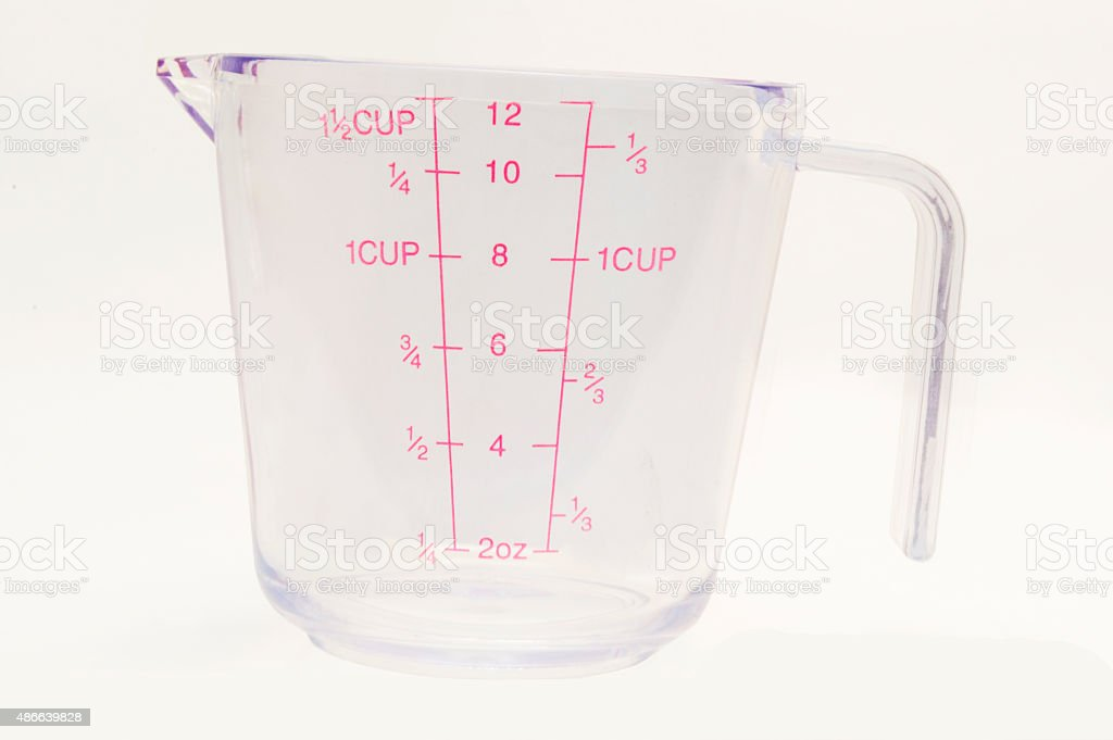 Measuring Cup Empty 1 stock photo