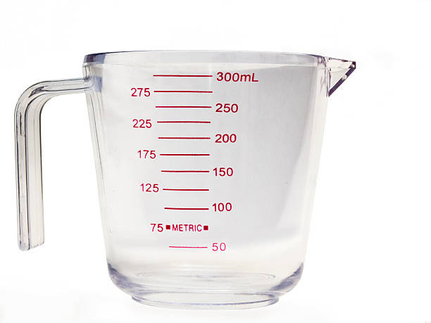 Measuring Cup Empty 2 Measuring Cup Empty Ml dry measure stock pictures, royalty-free photos & images