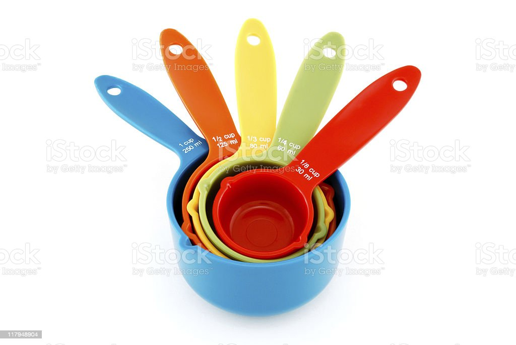 Measuring Cups stock photo