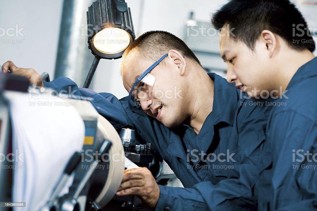 Measuring Equipment Digital Micrometer royalty-free stock photo