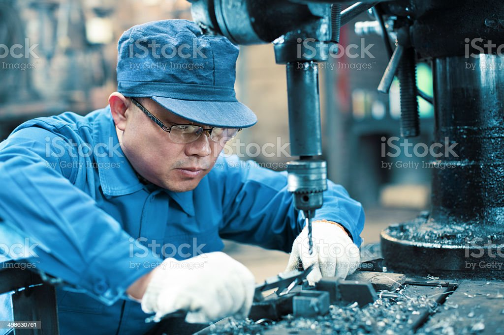 Measuring Equipment Digital Micrometer royalty-free stock photo