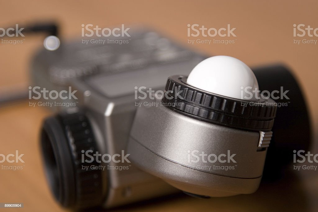 Measuring flashes royalty-free stock photo