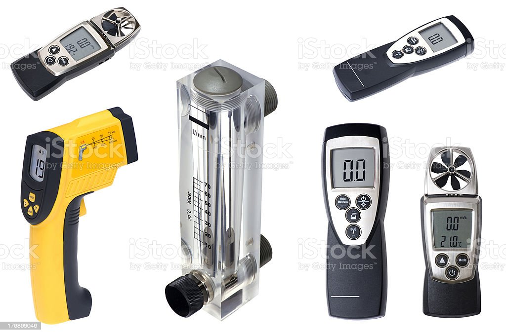 Measuring instruments royalty-free stock photo