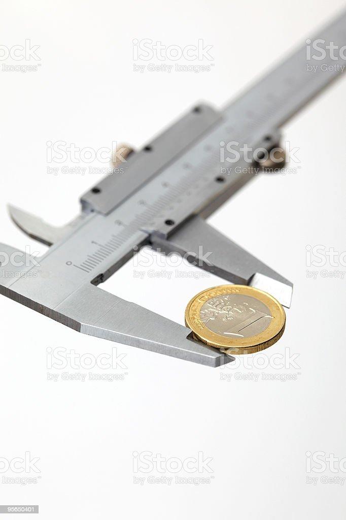 Messen Geld - Lizenzfrei Ausrüstung und Geräte Stock-Foto