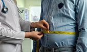 Overweight, Medical Exam, Dieting, Waistline, Nutritionist