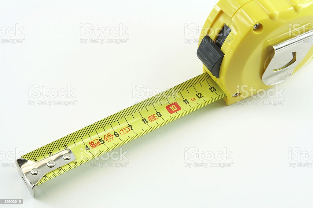 Measuring ruler royalty-free stock photo