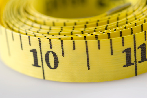 istock Measuring tape, close-up 93000972