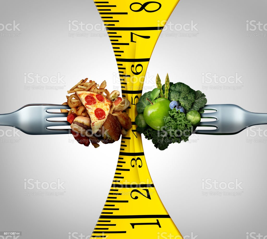 Measuring Tape Food stock photo