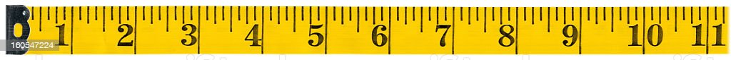 Measuring tape on white background, clipping path stock photo
