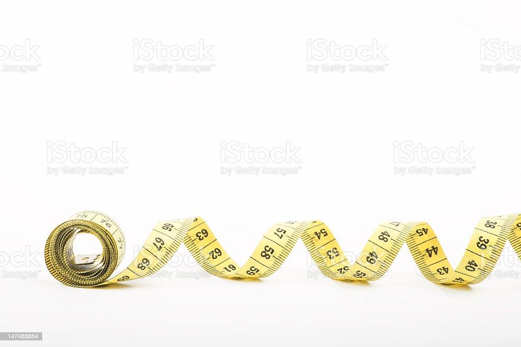 Measuring tape stock photo