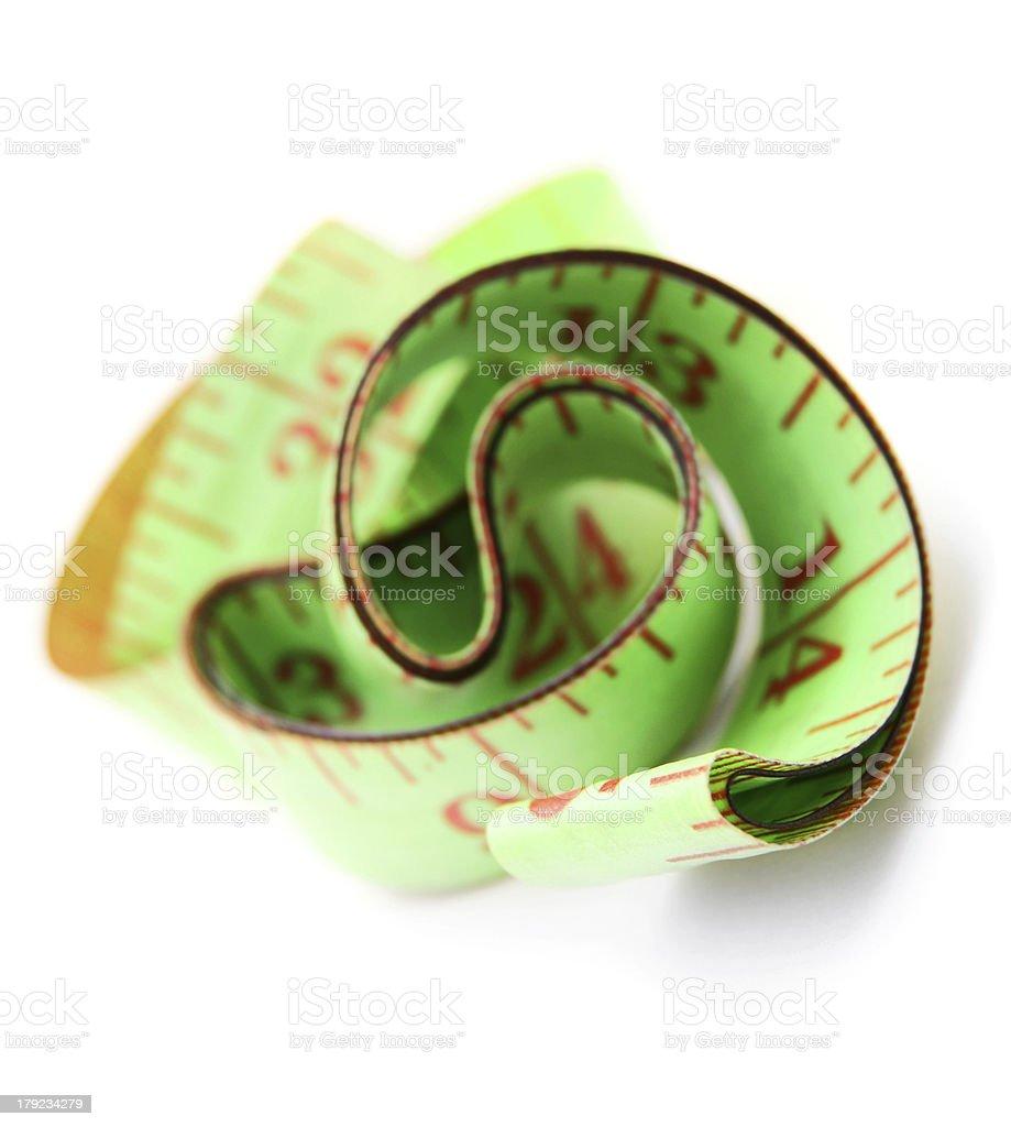 Measuring tape. royalty-free stock photo