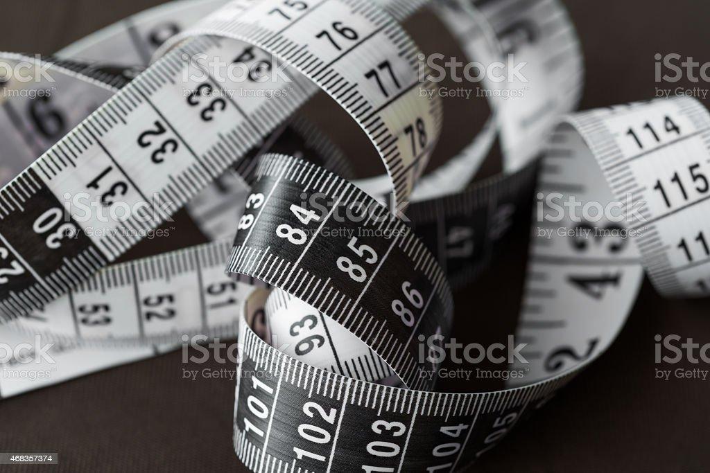 Measuring tape royalty-free stock photo